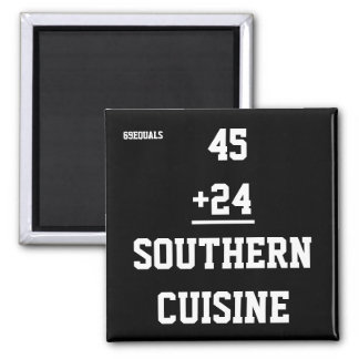 Southern Cuisine Magnet