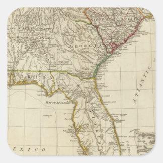 Southern dominions US Square Sticker