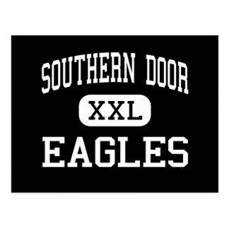 Southern Door - Eagles - High - Brussels Wisconsin Postcard