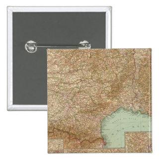 Southern France 3536 Pinback Button