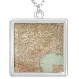 Southern France 3536 Square Pendant Necklace