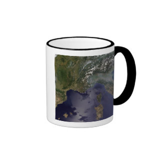 Southern France and Northern Italy Mugs