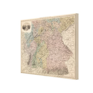 Southern Germany Canvas Print