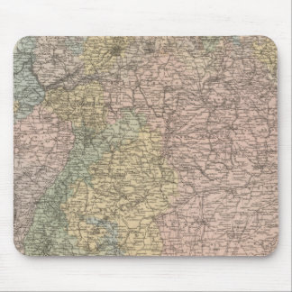 Southern Germany Mouse Pad