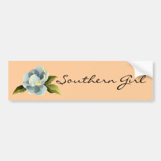 Southern Girl Magnolia Bumper Sticker