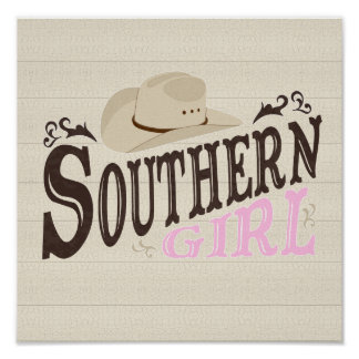 Southern Girl Poster