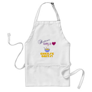 Southern Girls Love Cheese Grits Standard Apron