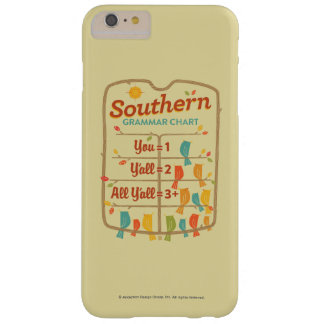 Southern Grammar Chart Barely There iPhone 6 Plus Case