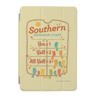 Southern Grammar Chart iPad Mini Cover