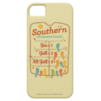 Southern Grammar Chart iPhone 5 Case