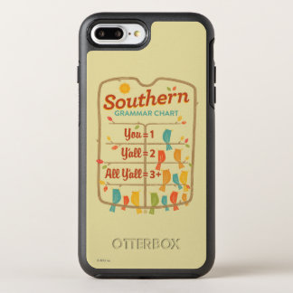 Southern Grammar Chart OtterBox Symmetry iPhone 8 Plus/7 Plus Case