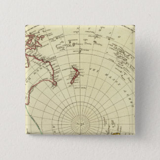 Southern Hemisphere 15 Cm Square Badge