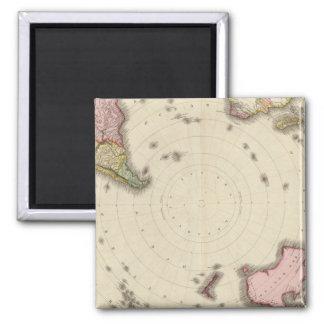 Southern Hemisphere 2 Square Magnet