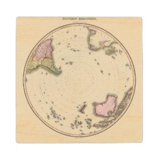 Southern Hemisphere 2 Wood Coaster