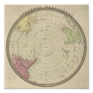 Southern Hemisphere 3 Poster