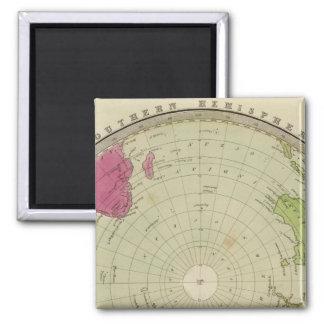 Southern Hemisphere 3 Square Magnet