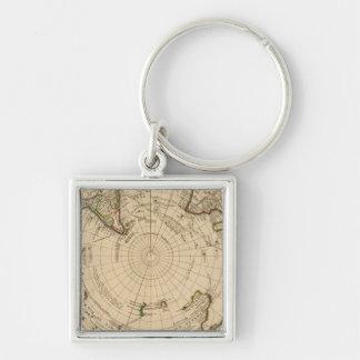 Southern Hemisphere 4 Key Ring