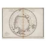 Southern Ice Chart Print