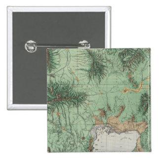 Southern Idaho and Northern Utah 2 15 Cm Square Badge