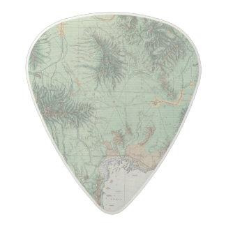 Southern Idaho and Northern Utah 2 Acetal Guitar Pick