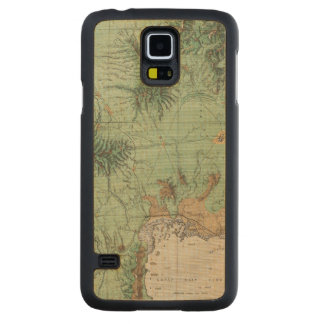 Southern Idaho and Northern Utah 2 Carved Maple Galaxy S5 Case