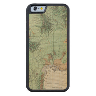 Southern Idaho and Northern Utah 2 Carved® Maple iPhone 6 Bumper