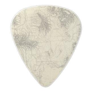Southern Idaho and Northern Utah Acetal Guitar Pick