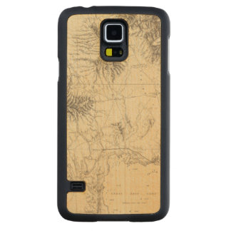 Southern Idaho and Northern Utah Carved Maple Galaxy S5 Case