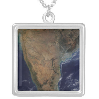 Southern India 2 Silver Plated Necklace