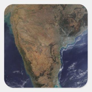 Southern India 2 Square Sticker