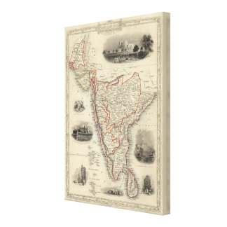 Southern India Canvas Print