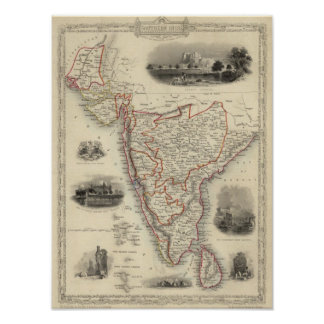 Southern India Poster