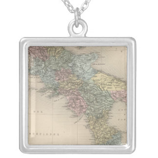 Southern Italy 4 Silver Plated Necklace