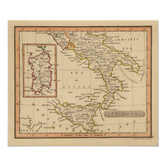 Southern Italy Poster