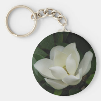 Southern Magnolia Key Ring