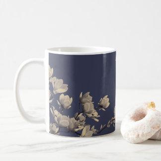 Southern Magnolias & Midnight Blue Coffee Mug