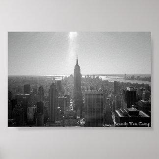 Southern Manhattan Poster