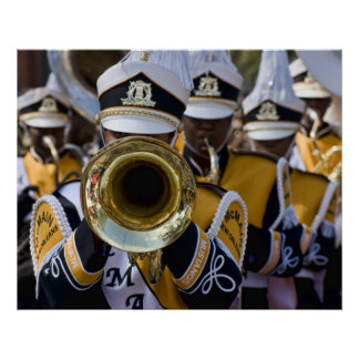 Southern Marching Band Poster