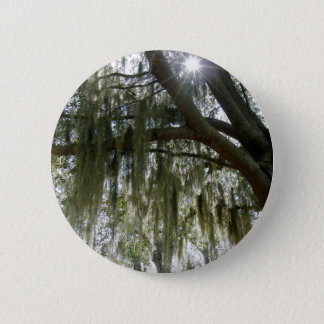 Southern Moss 6 Cm Round Badge
