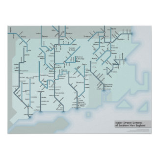 Southern New England Streams 18 x 24 Poster