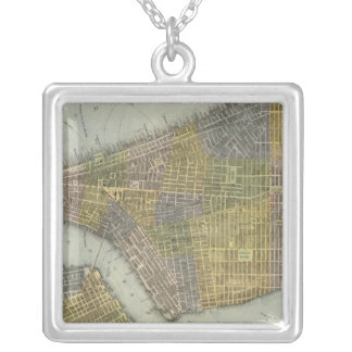 Southern New York City Silver Plated Necklace