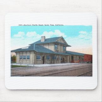 Southern Pacific Depot, Santa Rosa Vintage Mouse Pad