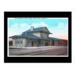 Southern Pacific Depot, Santa Rosa Vintage Post Card