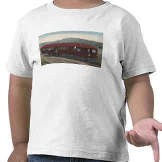 Southern Pacific Motor Car T Shirt