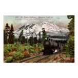 Southern Pacific Mt. Shasta 1912 Vintage Poster