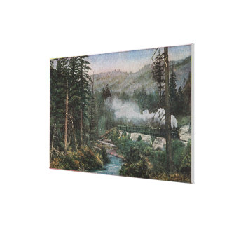 Southern Pacific Railroad Canvas Print