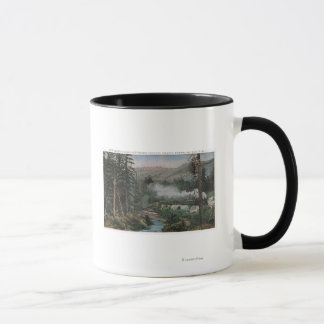 Southern Pacific Railroad Mug