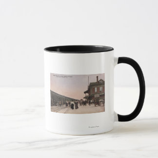 Southern Pacific Railroad Station Mug