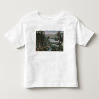 Southern Pacific Railroad Toddler T-Shirt