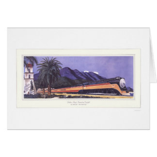 Southern Pacific Streamlined Daylight Greeting Card